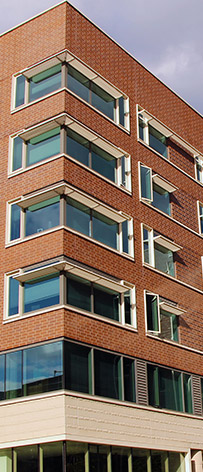 Windows - Window wall, and balcony doors