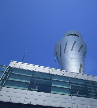 San Francisco International Airport Air Traffic Control Tower